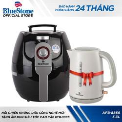 Nồi chiên không dầu Bluestone AFB-5859 Tặng ấm đun siêu tốc - TUBL0002CB