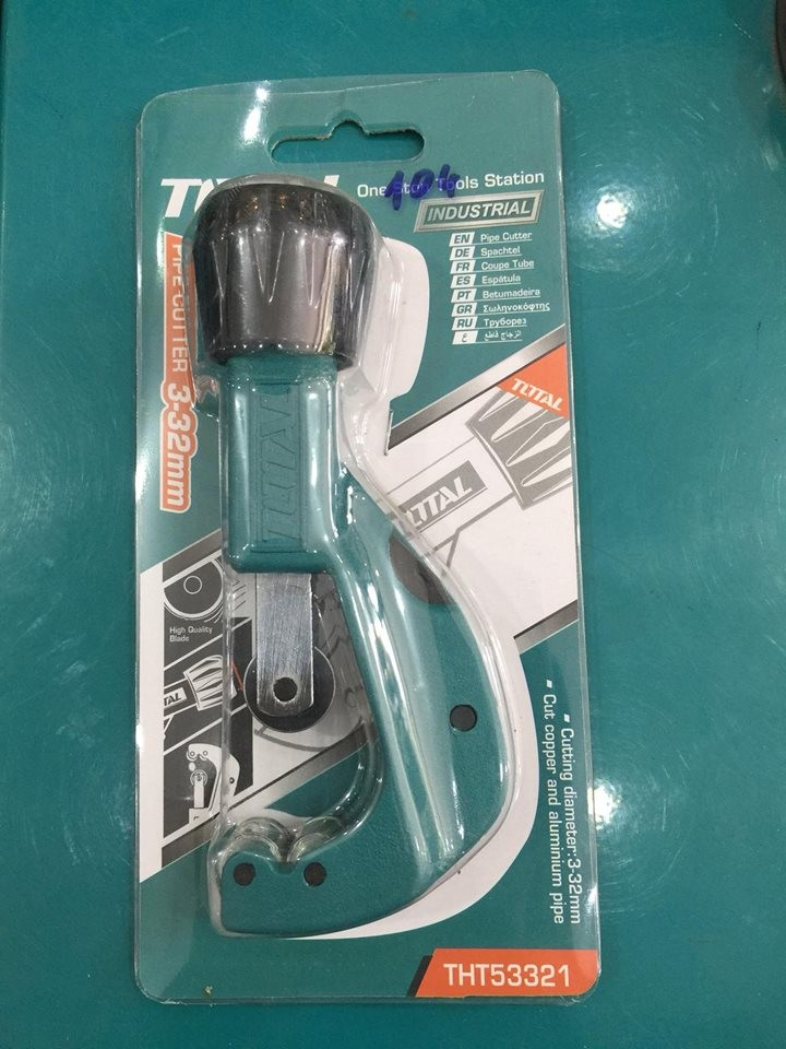 Dao cắt ống đồng nhôm Total THT53321
