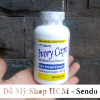 Viên Uống Hỗ Trợ Trắng Da, Giảm Nám Ivory Caps Glutathione 60 viên - VUDDIC60 thumbnail