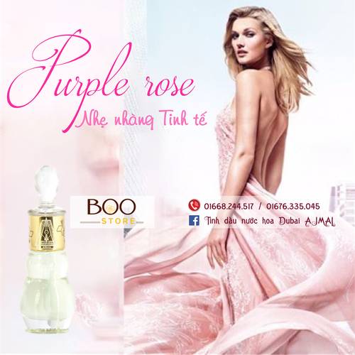 Tinh dầu nước hoa Dubai Purple Rose Ajmal - 5260905 , 11592254 , 15_11592254 , 540000 , Tinh-dau-nuoc-hoa-Dubai-Purple-Rose-Ajmal-15_11592254 , sendo.vn , Tinh dầu nước hoa Dubai Purple Rose Ajmal