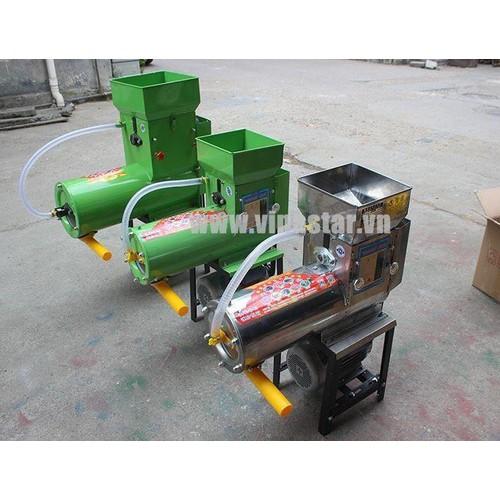 Máy xay tinh bột nghệ liên hoàn Inox TBN_2018 motor2,2KW