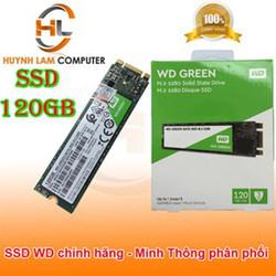 SSD 120GB WD Green M2 2280 Sata3 chính hãng - Minh Thông phân phối