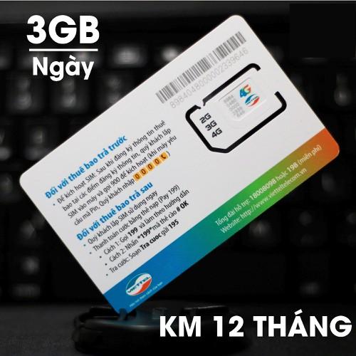 SIM 4G MT5C VIETTEL