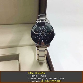 Đồng hồ nữ Halei dây bạc - 7261 thumbnail