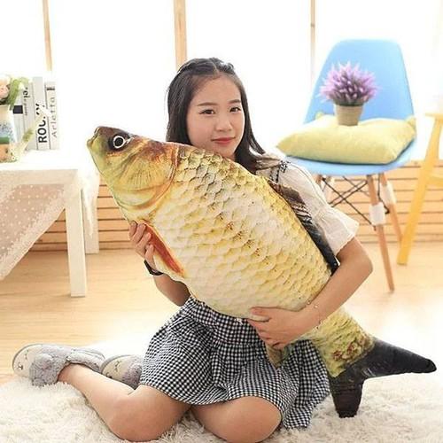 Gối ôm hình cá chép 3D - 5258177 , 11590475 , 15_11590475 , 169000 , Goi-om-hinh-ca-chep-3D-15_11590475 , sendo.vn , Gối ôm hình cá chép 3D