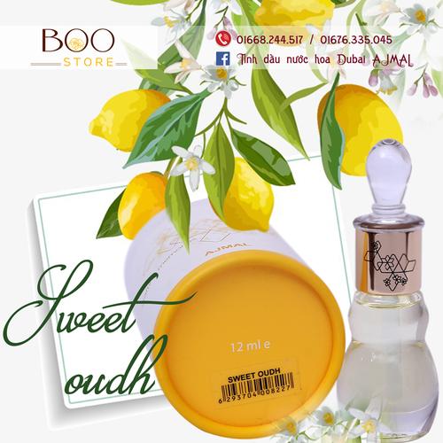 Tinh dầu nước hoa Dubai Sweet Oudh Ajmal - 5261009 , 11592473 , 15_11592473 , 540000 , Tinh-dau-nuoc-hoa-Dubai-Sweet-Oudh-Ajmal-15_11592473 , sendo.vn , Tinh dầu nước hoa Dubai Sweet Oudh Ajmal