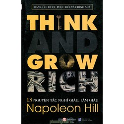 13 nguyên tắc nghĩ giàu, làm giàu giá bìa 89k