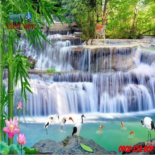 Gạch tranh 3d treo tường mẫu thác nước TN11 - 5267550 , 11597830 , 15_11597830 , 1200000 , Gach-tranh-3d-treo-tuong-mau-thac-nuoc-TN11-15_11597830 , sendo.vn , Gạch tranh 3d treo tường mẫu thác nước TN11