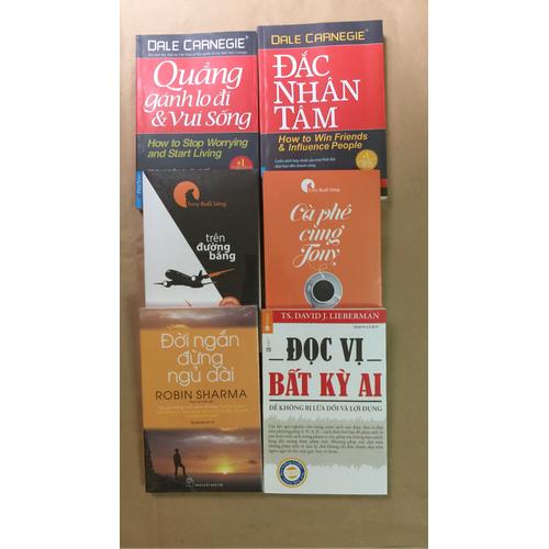Combo 6 quyển sách kỹ năng mềm