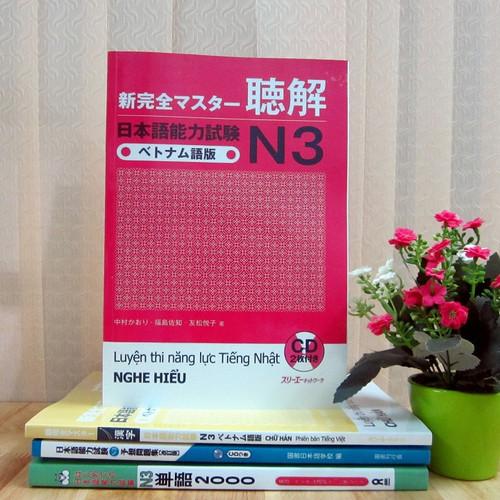 Sách N3 Shinkanzen master Nghe hiểu - Nhật Việt - Kèm CD