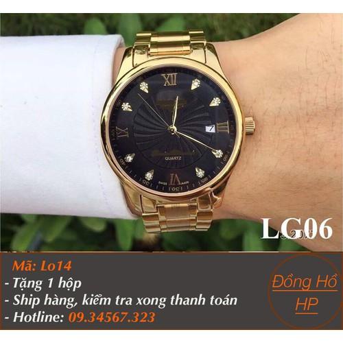 Đồng hồ nam mặt kính chống trầy