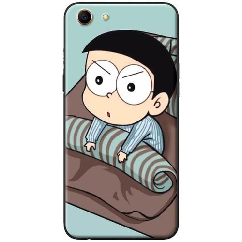 Ốp lưng nhựa dẻo Oppo A71 Nobita thức giấc