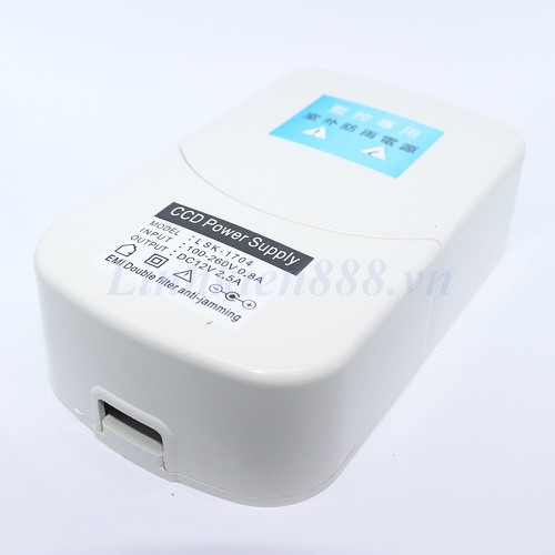 Bộ nguồn 12V 2A chống nước vỏ màu trắng dùng cho camera - 5262147 , 11593348 , 15_11593348 , 75000 , Bo-nguon-12V-2A-chong-nuoc-vo-mau-trang-dung-cho-camera-15_11593348 , sendo.vn , Bộ nguồn 12V 2A chống nước vỏ màu trắng dùng cho camera