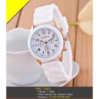 Đồng hồ nữ Geneva cao su - 7259 thumbnail