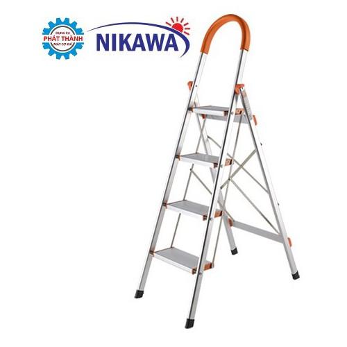 Thang ghế Nhôm 4 Bậc 0,96m Nikawa NKA-04 - 5268578 , 11598767 , 15_11598767 , 930000 , Thang-ghe-Nhom-4-Bac-096m-Nikawa-NKA-04-15_11598767 , sendo.vn , Thang ghế Nhôm 4 Bậc 0,96m Nikawa NKA-04