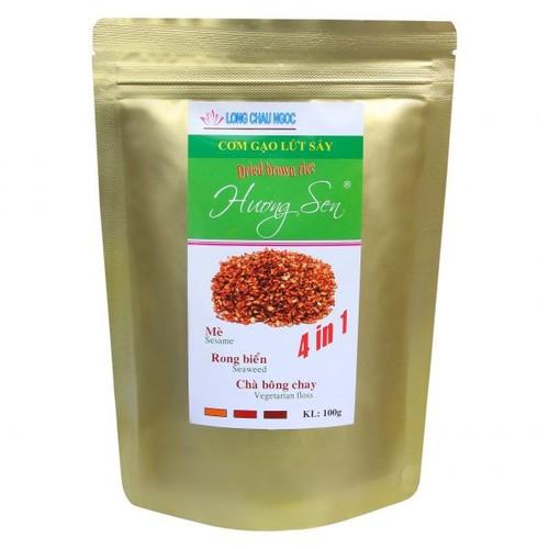 Cơm Gạo Lứt Sấy Hương Sen 4in1
