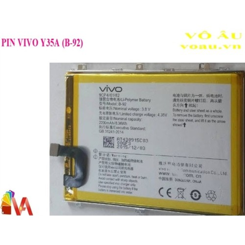 PIN VIVO Y35A - 5261029 , 11592522 , 15_11592522 , 148000 , PIN-VIVO-Y35A-15_11592522 , sendo.vn , PIN VIVO Y35A