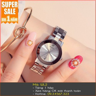 Đồng hồ nữ Wilon dây bạc - 7268 thumbnail