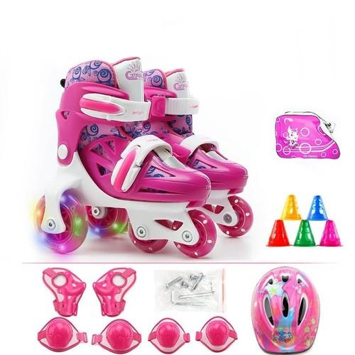 [CAO CẤP] Giày Patin, Giày trượt Patin 2 hàng bánh dễ tập cho bé 2-5 tuổi, Giày Patin đủ phụ kiện trẻ em, Giày patin có bảo hộ full box - 5284124 , 11612564 , 15_11612564 , 850000 , CAO-CAP-Giay-Patin-Giay-truot-Patin-2-hang-banh-de-tap-cho-be-2-5-tuoi-Giay-Patin-du-phu-kien-tre-em-Giay-patin-co-bao-ho-full-box-15_11612564 , sendo.vn , [CAO CẤP] Giày Patin, Giày trượt Patin 2 hàng bánh