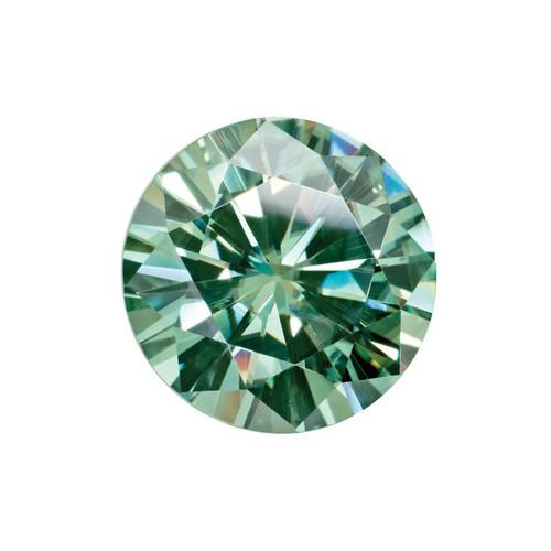 Đá Green Moissanite 7.2ly hiệu ứng bút thử kim cương