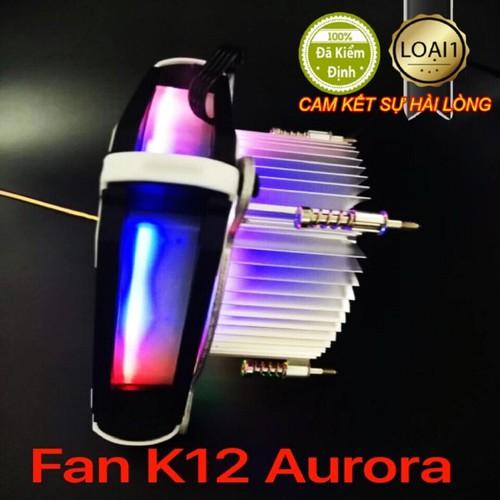 Fan CPU K12 Aurora Màu Sheelteck 2019