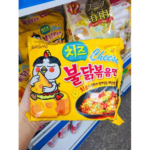 Combo 5 gói mỳ phô mai Samjang