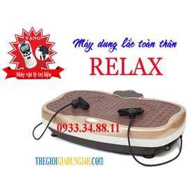 Máy rung lăc toàn thân giảm giá sốc tặng máy massage xung điện - Máy rung RELAX