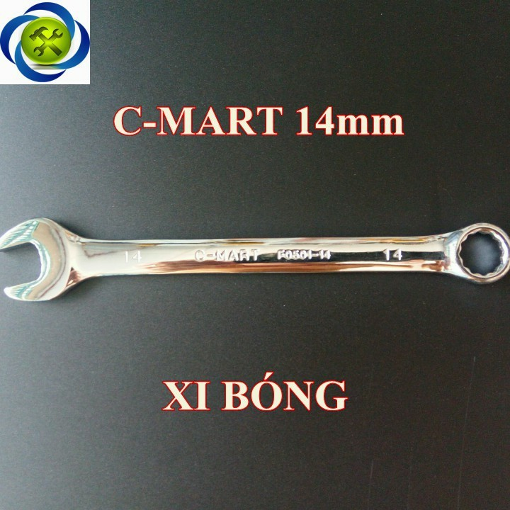 Cờ lê C-MART F0501-14 14mm xi bóng 1