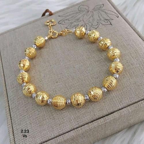 lắc tay bi vàng tây 10 kara - 5287351 , 11616543 , 15_11616543 , 4350000 , lac-tay-bi-vang-tay-10-kara-15_11616543 , sendo.vn , lắc tay bi vàng tây 10 kara