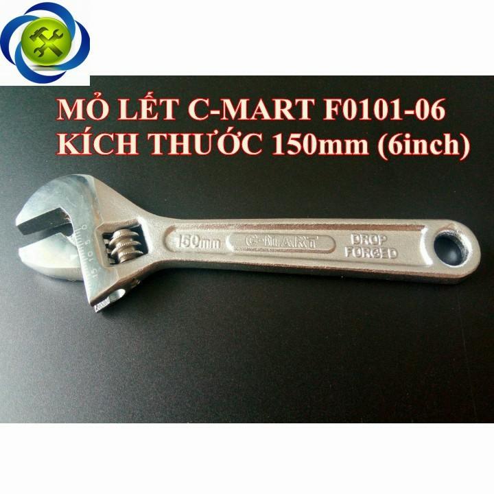 Mỏ lết C-MART F0101-06 150mm 6inch 1