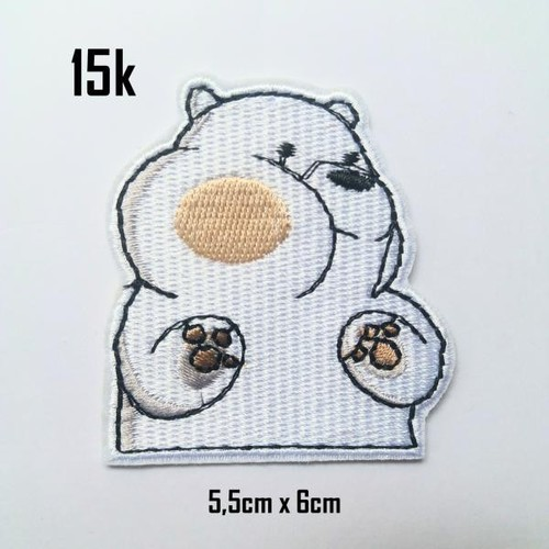 Sticker vải gấu ice bear We bare bear 159 - 5282756 , 11611114 , 15_11611114 , 15000 , Sticker-vai-gau-ice-bear-We-bare-bear-159-15_11611114 , sendo.vn , Sticker vải gấu ice bear We bare bear 159