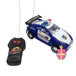 SALE SỐC Hộp đồ chơi xe hơi cảnh sát Ô tô điều khiển từ xa chạy pin