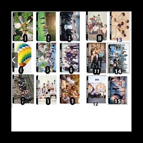 Set 15 hộp-lomo bts bộ ảnh hộp 30 ảnh thẻ hình nhóm nhạc hàn quốc