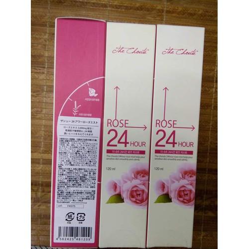Nước Hoa Hồng The Choute 24 Hour Rose Mist 120ml