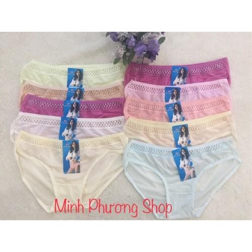 Combo 10 quần lót nữ thun lạnh - 10925317 , 13415912 , 15_13415912 , 80000 , Combo-10-quan-lot-nu-thun-lanh-15_13415912 , sendo.vn , Combo 10 quần lót nữ thun lạnh
