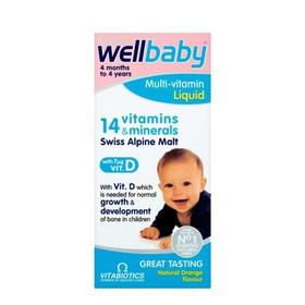 wellbaby 14 vitamin cho bé yêu - vitamin