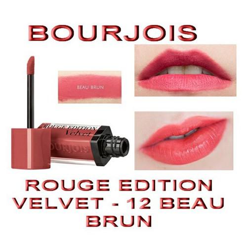 Son BJ Vevet Bourjoi Rouge Edition Vevet Pháp 7.7ml No.12