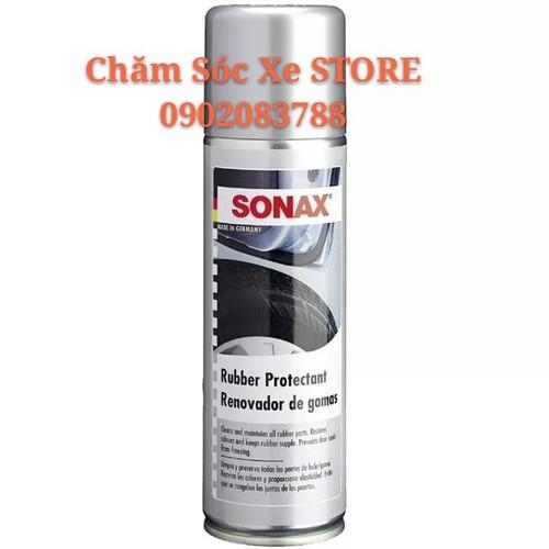 Chai bảo dưỡng cao su, lốp xe Sonax Rubber Protectant 300ml - SONAX 340200