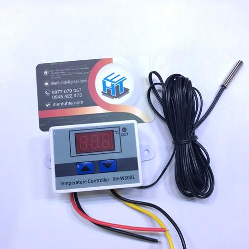 Bộ điều khiển nhiệt độ XH-W3001 cảm biến dài 3 mét