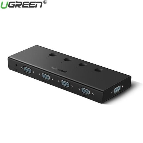 Bộ Gộp VGA 4 Vào 1 Ra Hỗ Trợ FullHD 500MHz Ugreen 50279