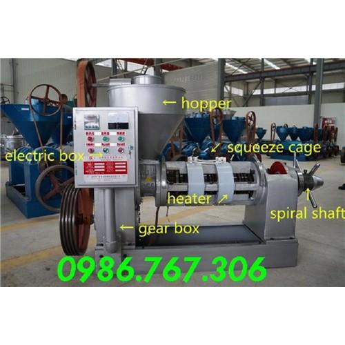 Máy ép dầu lạc công nghiệp,máy ép dầu Guangxin YZYZ10j-2WK,bình định,daklak,gialai giá rẻ.