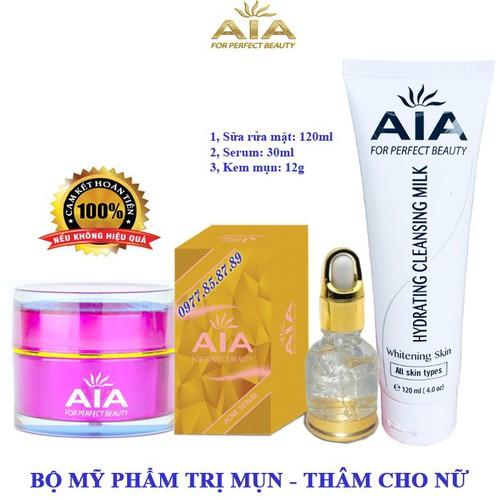 Bộ mỹ phẩm trị Mụn chuyên sâu dành cho Nữ AIA COSMETICS - 6729758 , 13419053 , 15_13419053 , 599000 , Bo-my-pham-tri-Mun-chuyen-sau-danh-cho-Nu-AIA-COSMETICS-15_13419053 , sendo.vn , Bộ mỹ phẩm trị Mụn chuyên sâu dành cho Nữ AIA COSMETICS