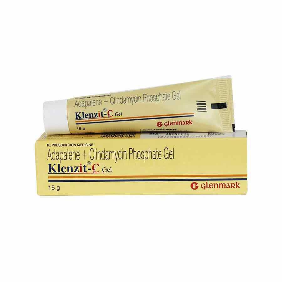 Thuốc Klenzit C Gel 15g  thuốc điều trị mụn trứng cá