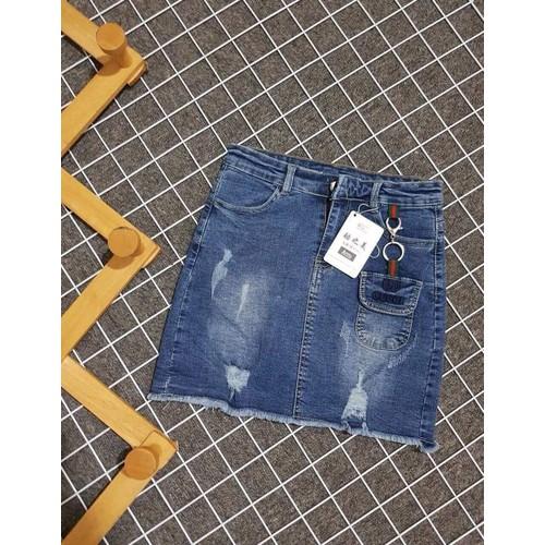 Chân váy Jeans có quần bên trong