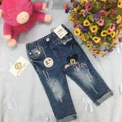 Quần jeans cho bé gái