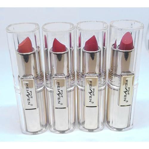 Son mềm môi PNF Peiyen Sexy Lips Hàn Quốc 3.5g No.04 Đỏ ruby