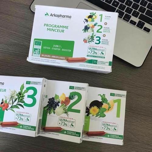 Detox Thải độc GIẢM CÂN Arkopharma 3 giai đoạn của Pháp - 6733105 , 13423267 , 15_13423267 , 600000 , Detox-Thai-doc-GIAM-CAN-Arkopharma-3-giai-doan-cua-Phap-15_13423267 , sendo.vn , Detox Thải độc GIẢM CÂN Arkopharma 3 giai đoạn của Pháp