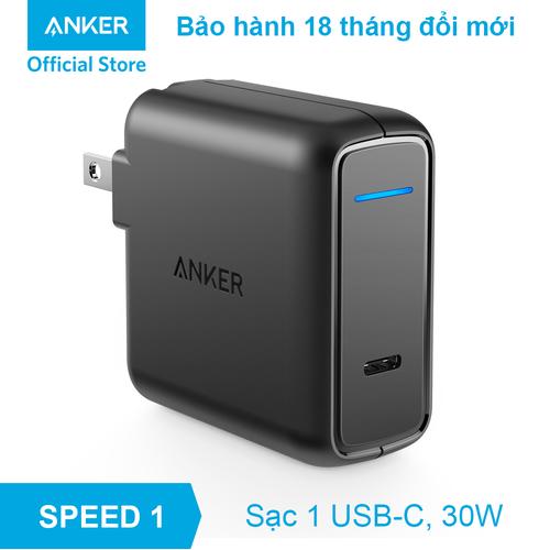 Sạc ANKER PowerPort Speed 1 USB-C, 30W - A2014