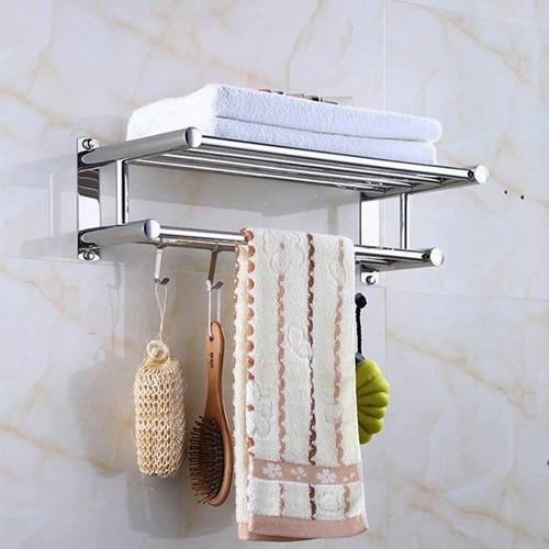 Giá treo khăn nhà tắm 2 tầng có móc treo đa năng - 7294494 , 13968463 , 15_13968463 , 199000 , Gia-treo-khan-nha-tam-2-tang-co-moc-treo-da-nang-15_13968463 , sendo.vn , Giá treo khăn nhà tắm 2 tầng có móc treo đa năng