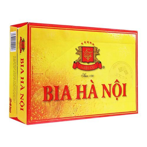 Bia Hà Nội thùng 24lon